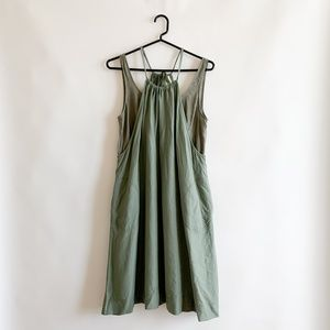 Anthropologie Maeve 2 Piece Apron Dress